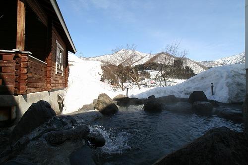 ハーブの湯冬露天風呂