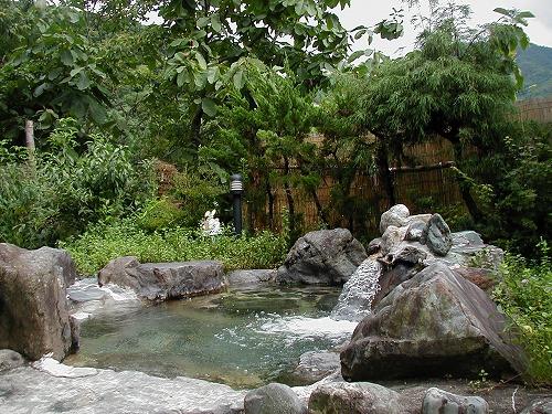 ハーブの湯夏露天風呂